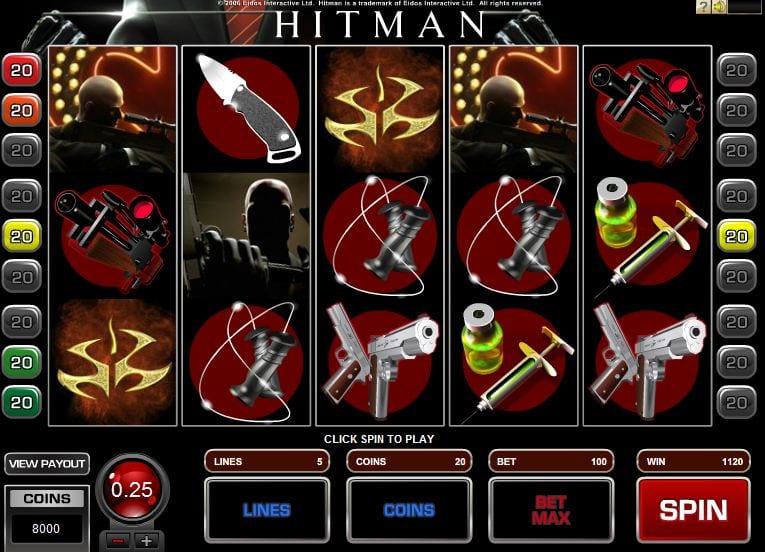 Hitman slot Bonus
