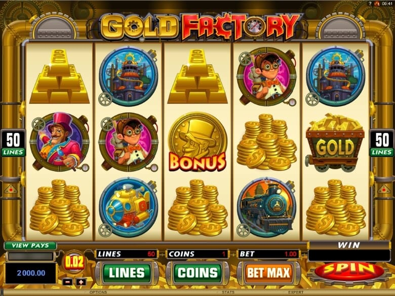 Gold Factory pokie review bonus free spins