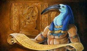 thoth god of gambling