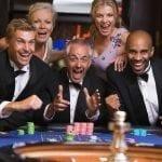 group of people gambling