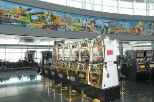 airport slot machines