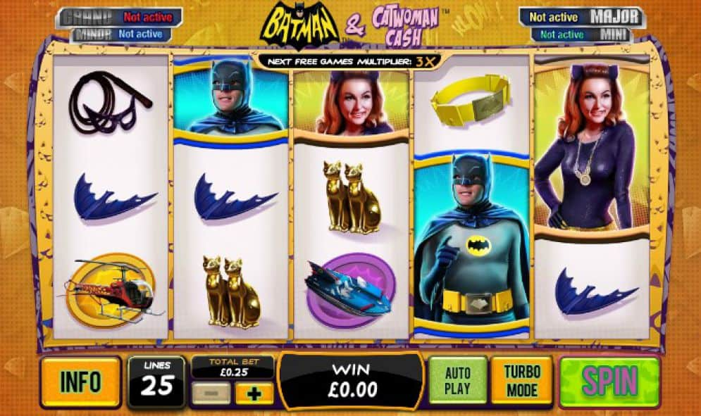 batman and catwoman slot game