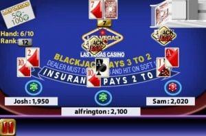 molbile deluxe blackjack round