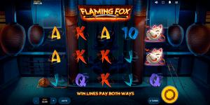 flaming fox slot game