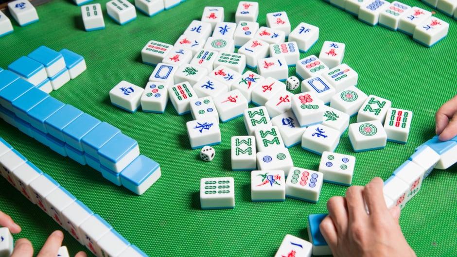 mahjong asian gambling game