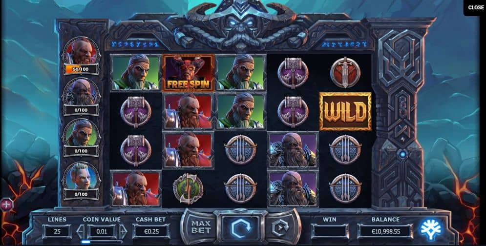 vikings go to hell slot game